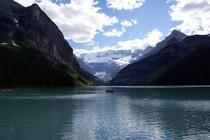 Not the greatest shot of Lake Louise but I had to share