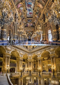 Nothing beats the beautiful ancient architecture Opra Garnier from Paris France