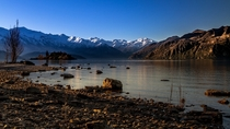 Nothing beats the first light of a crisp winter morning Lake Wanaka New Zealand