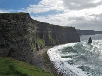 Nothing like a stiff sea breeze County Clare Ireland