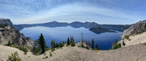 Nothing overly fancy just crater lake Oregon and all her wonderful splendor The history here is incredible For those that may not know this was a volcano that filled with rain water and snow runoff over the years