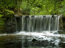 Nothing too grand just a small waterfall near my home in Staffordshire UK