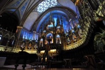 Notre Dame Basilica in Montreal Canada