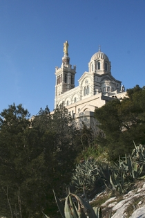 Notre-Dame de la Garde in Marseille France by the architect Henri-Jacques Esprandieu