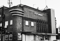 Nottingham Futurist building designed by Alfred John Thraves This cinema was opened in  and finally closed on the th August  following a showing of The Sound of Music It now houses several businesses OC  x