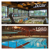 Now and Then The abandoned natatorium at Grossingers Resort in NY