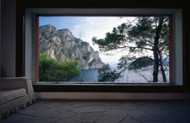 Now this is what I call a window Casa Malaparte by Adalberto Libera Capri Italy