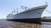 NS Savannah the first nuclear-powered merchant ship in the world