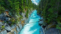 Numa Falls in Kootenay National Park British Columbia Canada  by RClassen