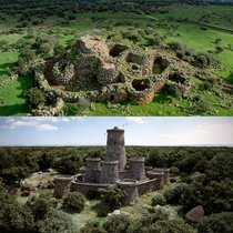 Nuraghe Arrubiu one of the tallest structures in Bronze Age Europe Sardinia Italy