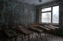 Nursery of Medical Unit No  in Pripyat from my last trip to Chernobyl
