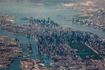 NYC aerial on a grand scale