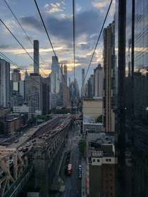 NYC from the Roosevelt Island Tram