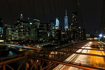 NYC Skyline from Brooklyn Bridge