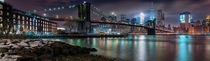 NYC skyline from Brooklyn - Pano -