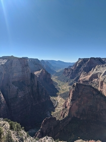 Observation Point Zion National Park Utah