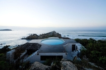 Observatory House in Roca Blanca Mexico  designed by Tatiana Bilbao  Gabriel Orozco
