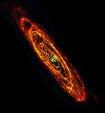 Observing A Galaxy With Infrared