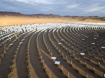 Obsolete and troubled Crescent Dunes solar concentrator