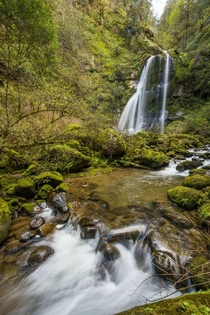 OC - Elk Creek Falls Oregon