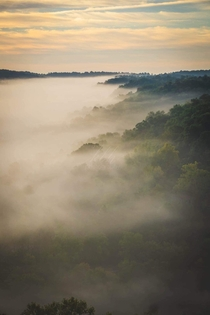 OC Eureka Springs Arkansas Sunrise in the Ozark Mountains xpx