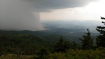 OC I took this photo from Grandfather Mountain North Carolina in   x
