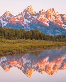 OC- Im new to using Reddit Whether you are new like me or a longtime user why are you on here Im interested to know thanks Grand Teton National Park Wyoming