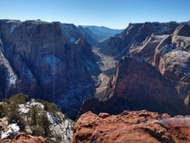 OC Observation Point Zions National Park Utah USA x