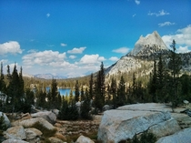 OC Photo of Cathedral lake I took in Yosemite  days ago
