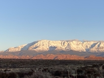 OC - southern Utah- my view this morning x