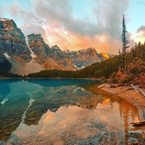 OC- Who else is in a serious relationship with the Canadian Rockies   Banff Alberta