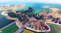 Ocean Flower Island in Haikou China Possibly one of the worlds biggest commercial construction project
