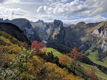 October near Hoher Kasten - Appenzell Switzerland