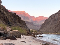 October Sunrise at Granite Rapids Grand Canyon AZ  Photo by friend Sam Angles