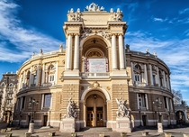 Odessa National Academic Theater of Opera and Ballet Ukraine  x-post rUkrainePics