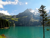 Oeschinensee in Switzerland  by MargitFotomouse