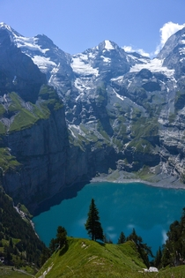Oeschinensee Kandersteg Switzerland  x