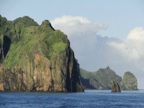 Off the Coast of Heimaey Vestmannaeyjar Iceland