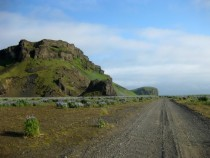 Off the main road near Vik Iceland