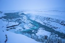 Off to Iceland Round  tonight I love this country - Gullfoss Iceland