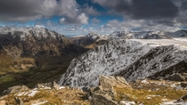 Ogwen Valley Peaks - Carnedd-Y-Filiast Snowdonia by Kris Williams