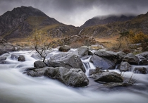 Ogwen Valley Snowdonia Wales