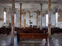 Ohio State Reformatory - Chapel in Mansfield Ohio