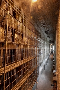 Ohio State Reformatory where Shawshank Redemption was filmed Thats six stories of cells