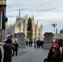 Ok just one more of Duomo di Milano Christmas time - Milan Italy