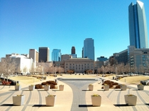 Oklahoma City Municipal bldg and Skyline  taken with my Nexus
