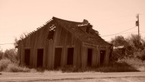 Old abandoned house in Langtry TX