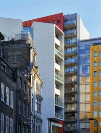 Old and new - St Giles Court London Image - Icon