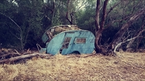 Old caravan i stumbled across