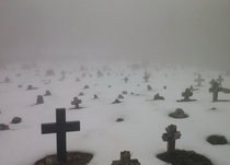 Old catholic cemetery in epe Bosnia and Herzegovina
